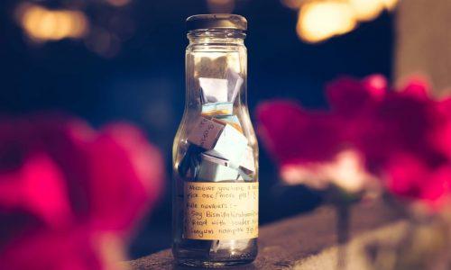 bottiglia dei desideri